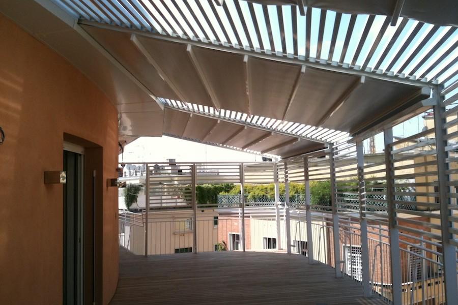 Copertura terrazza per attico - MA.CO. S.a.s. di Corbella M. & C.
