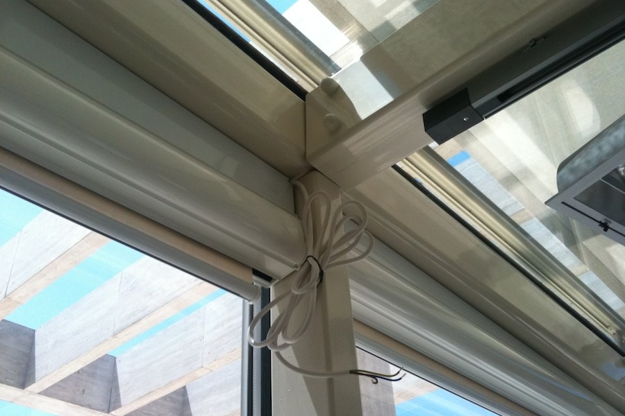 struttura vetro tende