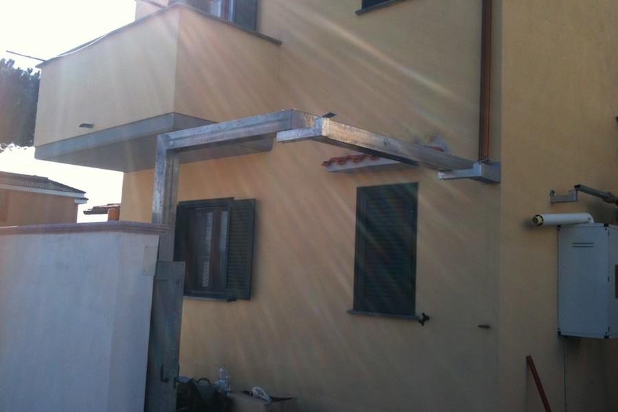 copertura in ferro zincato