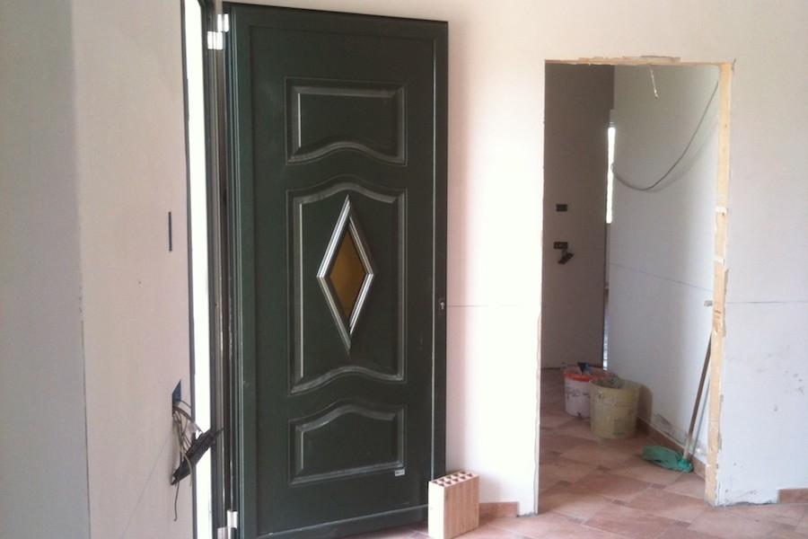 infissi in alluminio e legno per abitazione
