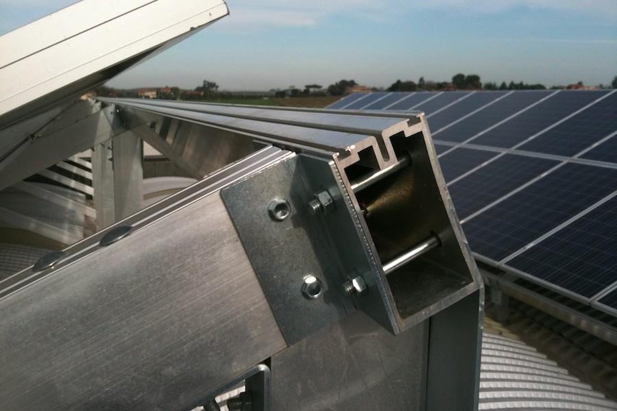 struttura pannelli fotovoltaici