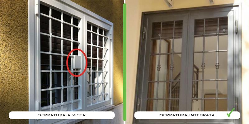 Grate di sicurezza ma co s a s di corbella m c - Ringhiere per finestre ...