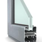 Sezione infissi in alluminio