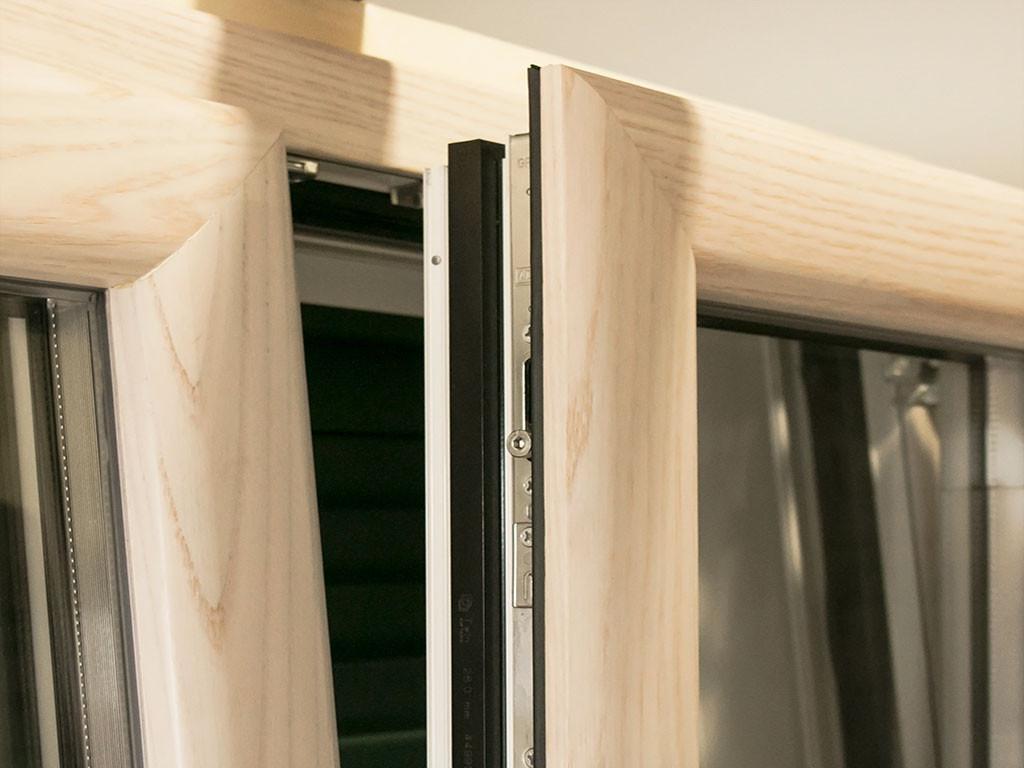 Infissi in alluminio ma co s a s di corbella m c for Infissi pvc legno