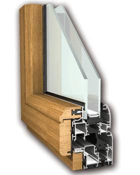 Infissi in alluminio ma co s a s di corbella m c - Profili in legno per finestre ...