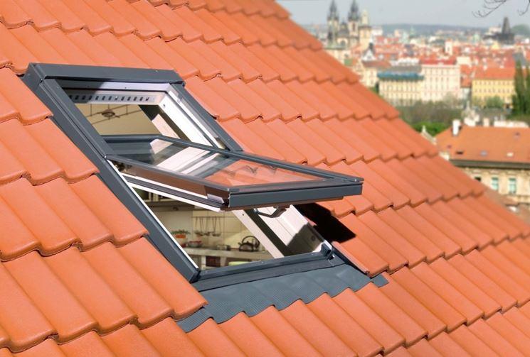 Finestre da tetto ma co s a s di corbella m c for Finestre per tetto
